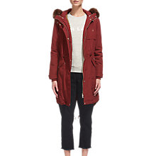 Buy Whistles Cassie Casual Parka Online at johnlewis.com