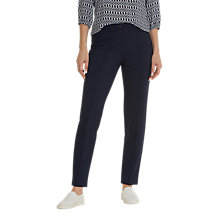 Buy Betty Barclay Jersey Trousers, Dark Sky Online at johnlewis.com