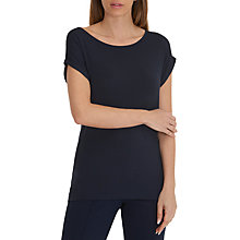 Buy Betty Barclay Oversized Cap Sleeve T-Shirt, Dark Sky Online at johnlewis.com