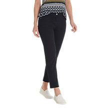 Buy Betty Barclay Two Pocket Cropped Jeans, Dark Sky Online at johnlewis.com