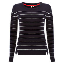 Buy White Stuff Meadow Jumper, Navy Online at johnlewis.com