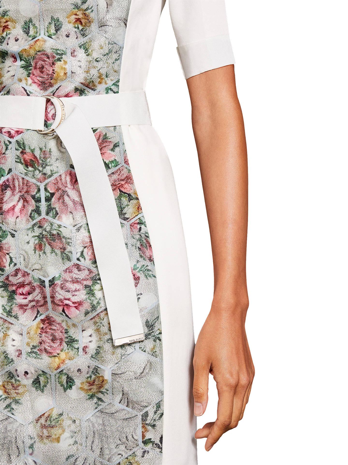 0e2b712bd656 Buy Ted Baker Dorn Patchwork Bodycon Dress