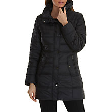 Buy Betty Barclay Puffer Coat, Black Online at johnlewis.com