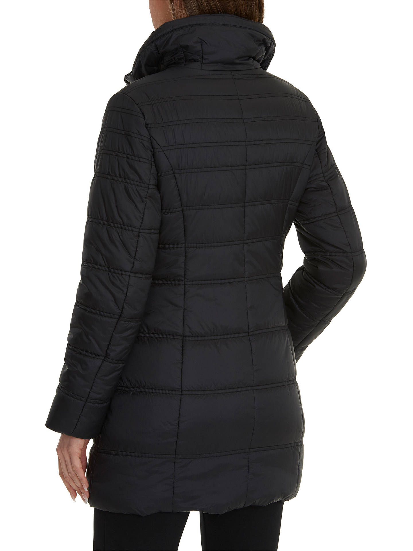 Buy Betty Barclay Puffer Coat, Black, 8 Online at johnlewis.com