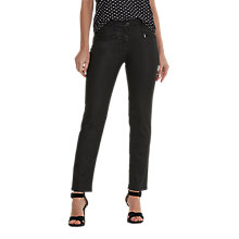 Buy Betty Barclay Perfect Body Waxed Jeans, Black Online at johnlewis.com