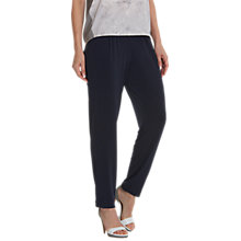 Buy Betty Barclay Pull-On Trousers, Navy Online at johnlewis.com