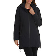 Buy Betty Barclay Down Lined Hooded Jacket, Deep Navy Online at johnlewis.com