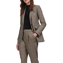 Buy Whistles Check Longline Blazer, Multi Online at johnlewis.com