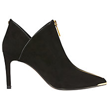 Buy Ted Baker Millae Pointed Toe Ankle Boots, Black Online at johnlewis.com