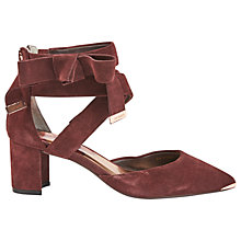 Buy Ted Baker Nokon Block Heeled Court Shoes Online at johnlewis.com