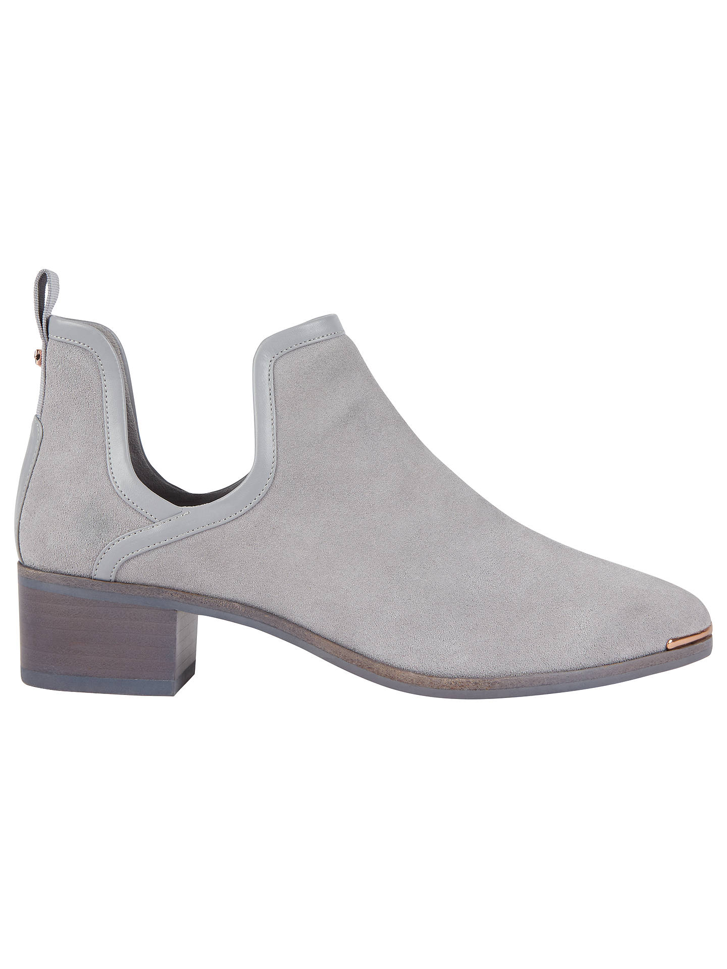 0f9358f319c9 Ted Baker Twillo Cut Out Ankle Boots at John Lewis   Partners