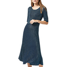 Buy Selected Femme Sada Knitted Dress, Reflecting Pond Online at johnlewis.com
