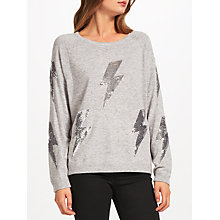 Buy JEFF Cosmo Embellished Jumper Online at johnlewis.com