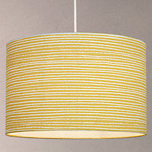 Buy John Lewis Coastal Cleystripe Lampshade Online at johnlewis.com