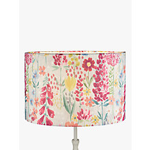 Buy John Lewis Flora Lampshade, Multi Online at johnlewis.com