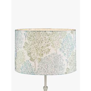 Ceiling lamp shades light shades drum shades john lewis john lewis leckford trees lampshade green aloadofball Images