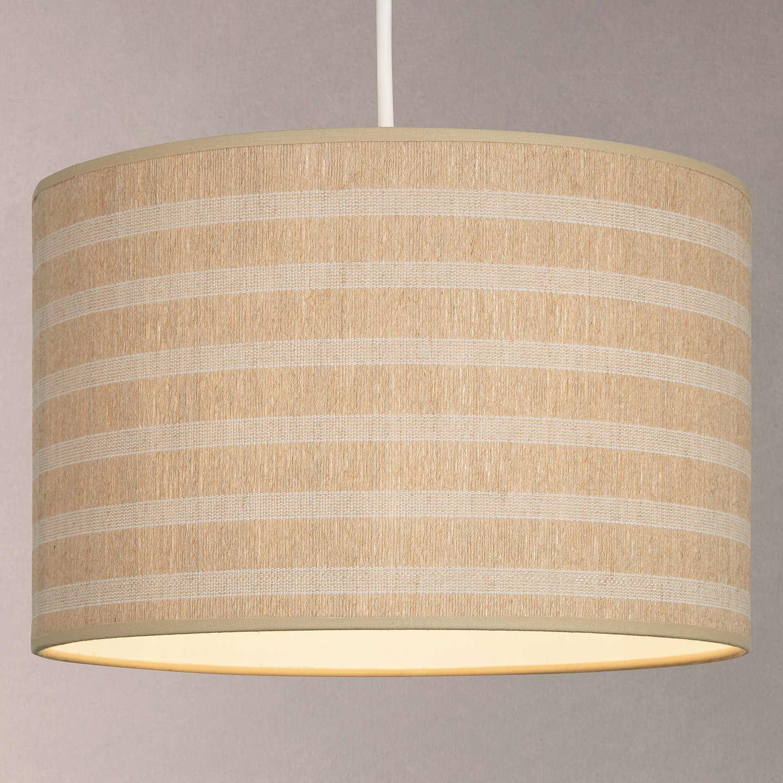 John lewis weave striped lampshade natural at john lewis buyjohn lewis weave striped lampshade natural dia30cm online at johnlewis aloadofball Gallery