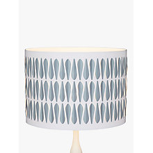 Buy John Lewis Rex Cutwork Lampshade, White Online at johnlewis.com