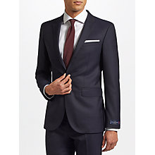 Buy John Lewis Ermenegildo Zegna Super 160s Wool Twill Half Canvas Tailored Suit Jacket, Navy Online at johnlewis.com