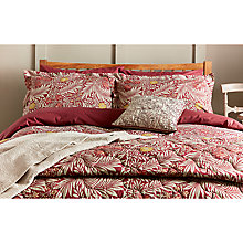 Buy Morris & Co Larkspur Duvet Cover and Pillowcase Set Online at johnlewis.com