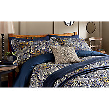 Buy Morris & Co Larkspur Duvet Cover Set Online at johnlewis.com