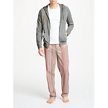 Buy Paul Smith Loungewear Loopback Hoodie Online at johnlewis.com