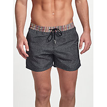 Buy Paul Smith Placement Stripe Swim Shorts, Multi Online at johnlewis.com