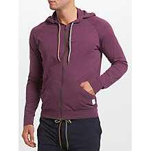 Buy Paul Smith Loungewear Loopback Hoodie, Purple Online at johnlewis.com