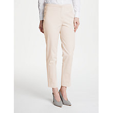 Buy John Lewis Dionne Trousers, Cream Online at johnlewis.com