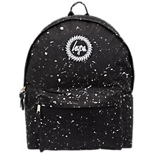 Buy Hype Children's Speckle Bag, Black Online at johnlewis.com