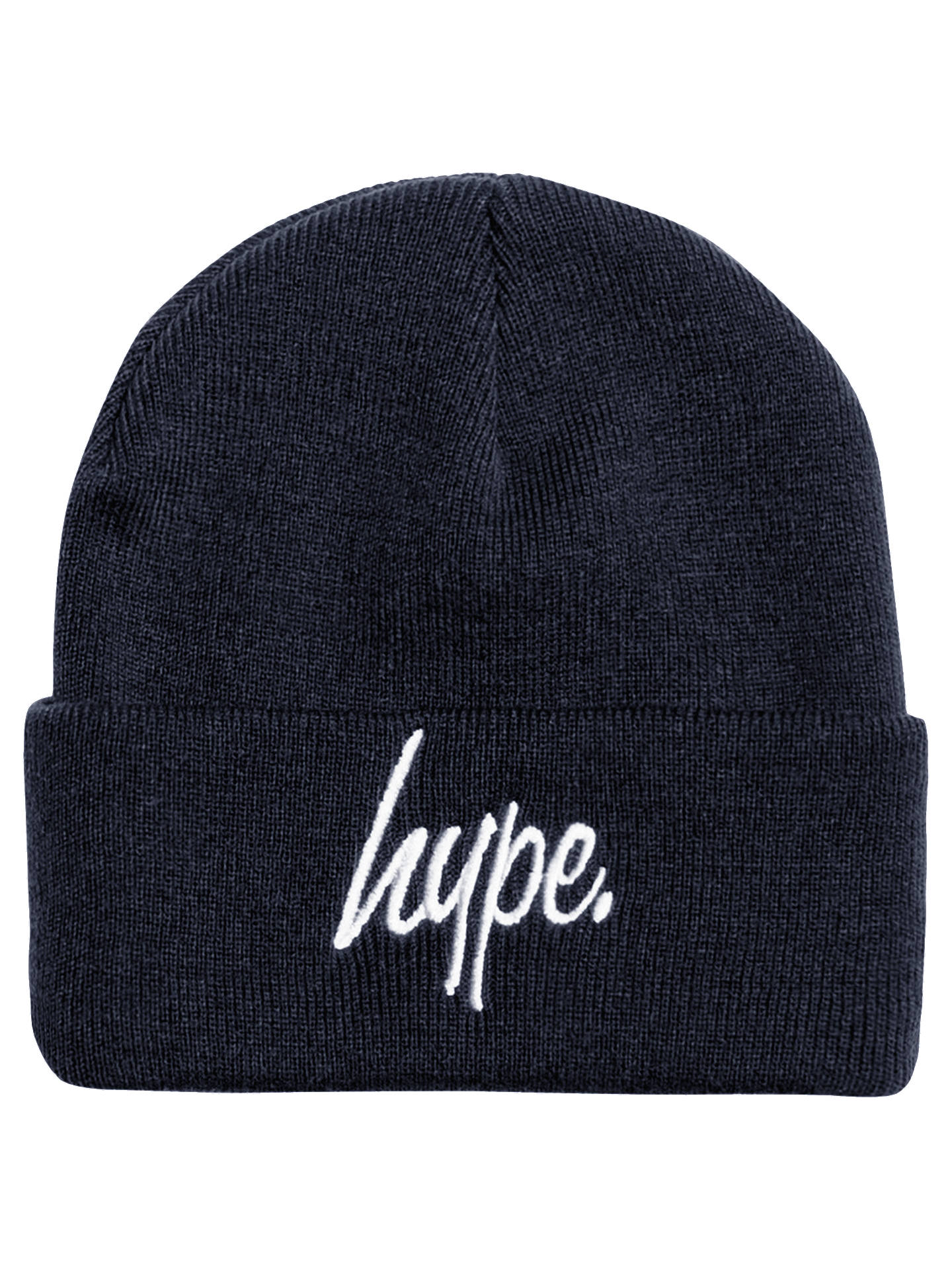 b7c66f8782af6 Buy Hype Boys' Beanie Hat, Navy Online at johnlewis. ...