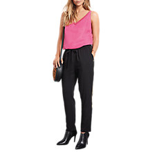 Buy hush Albany Cami Top, Bright Pink Online at johnlewis.com