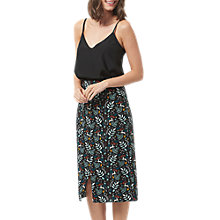 Buy Sugarhill Boutique Enchanted Woodland Midi Skirt, Black/Multi Online at johnlewis.com