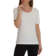 Buy Betty Barclay Cotton T-Shirt, Off White Online at johnlewis.com
