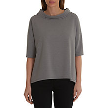 Buy Betty Barclay Statement Neck Tunic Top, Light Grey Melange Online at johnlewis.com