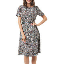 Buy Sugarhill Boutique Remi Petal Print Dress, Grey Online at johnlewis.com