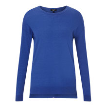 Buy Jigsaw Wafer Cashmere Crew Jumper Online at johnlewis.com