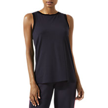 Buy Jigsaw Athleisure Rib Back Vest Top, Slate Online at johnlewis.com