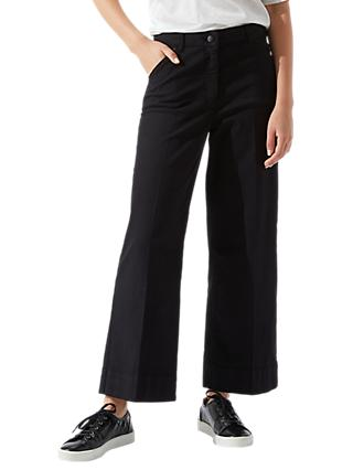 Jigsaw Hoxton Crop Flare Trousers