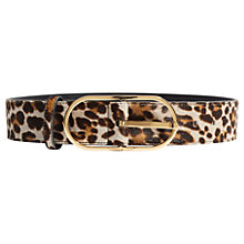Buy Karen Millen Leopard Waist Belt, Multi Online at johnlewis.com