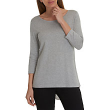 Buy Betty Barclay Oversized Double Layer Jumper, Light Grey/Melange Online at johnlewis.com