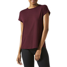 Buy Jigsaw Athleisure Rib Back T-Shirt Online at johnlewis.com