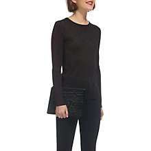 Buy Whistles Sparkle Colour Block Jumper, Multi Online at johnlewis.com