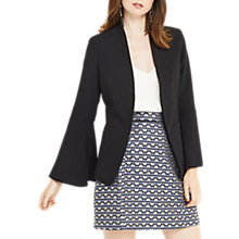 Buy Oasis Bell Sleeve Jacket, Black Online at johnlewis.com