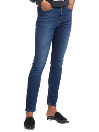 Whistles Skinny Jeans, Mid Wash Denim
