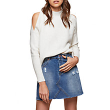 Buy Miss Selfridge Cold Shoulder Jumper Online at johnlewis.com