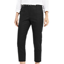 Buy Oasis Compact Cotton Capri Trousers Online at johnlewis.com