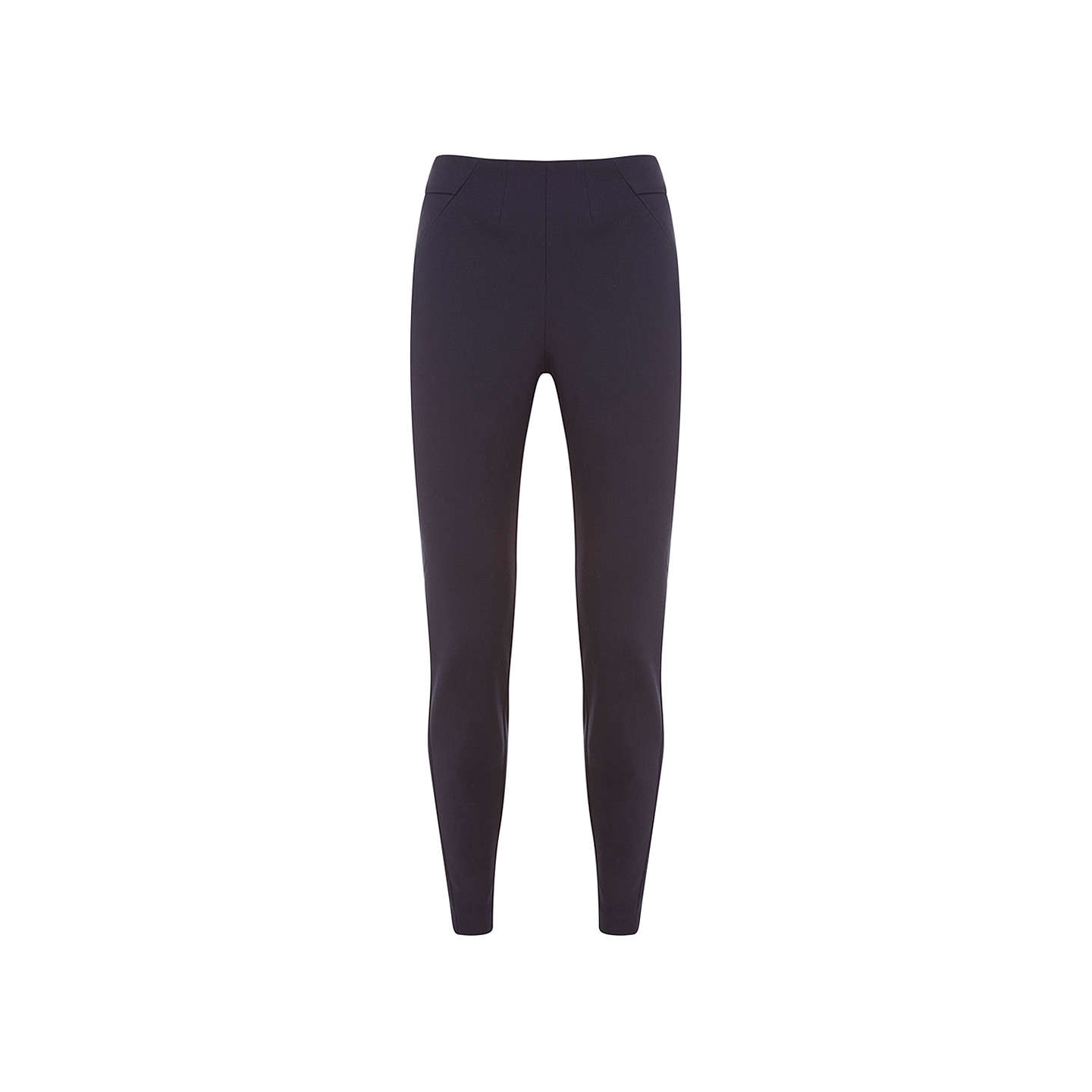 BuyMint Velvet Contour Treggings, Dark Blue, 6 Online at johnlewis.com
