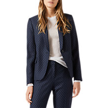 Buy Jigsaw Cross Tailoring Portofino Jacket, Navy Online at johnlewis.com