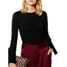 Buy Karen Millen Flared Cuff Ribbed Jumper Online at johnlewis.com
